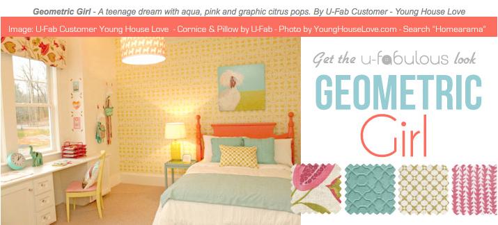 Ufabulous Design Room: Geometric Girl