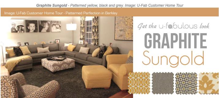 Ufabulous Design Room: Graphite Sungold