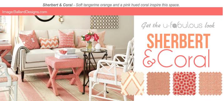 Ufabulous Design Room: Sherbert & Coral