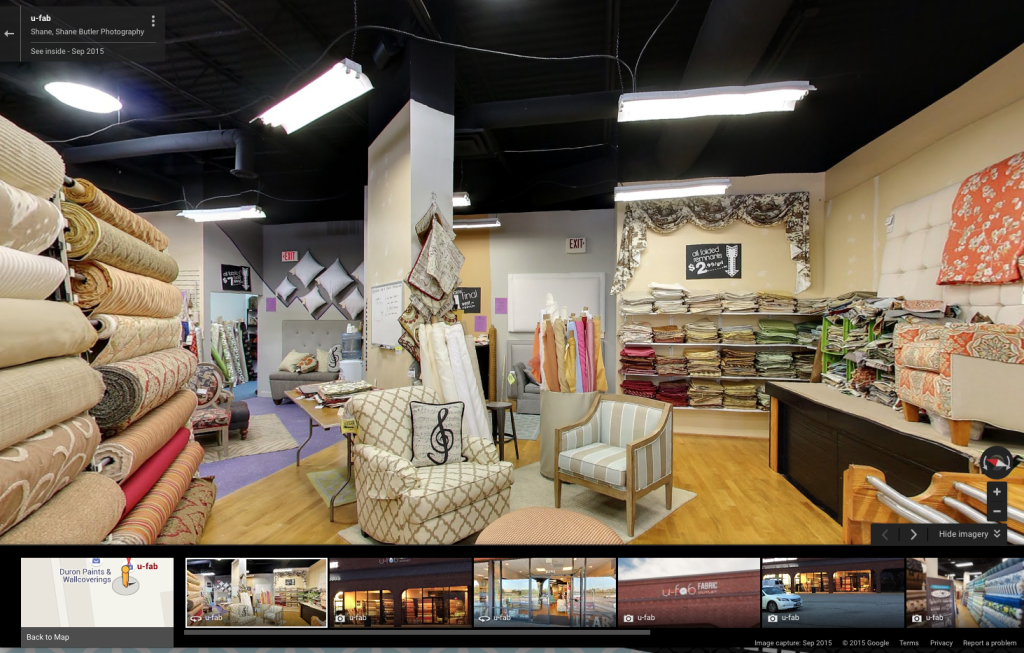 Ufabulous Google Business View