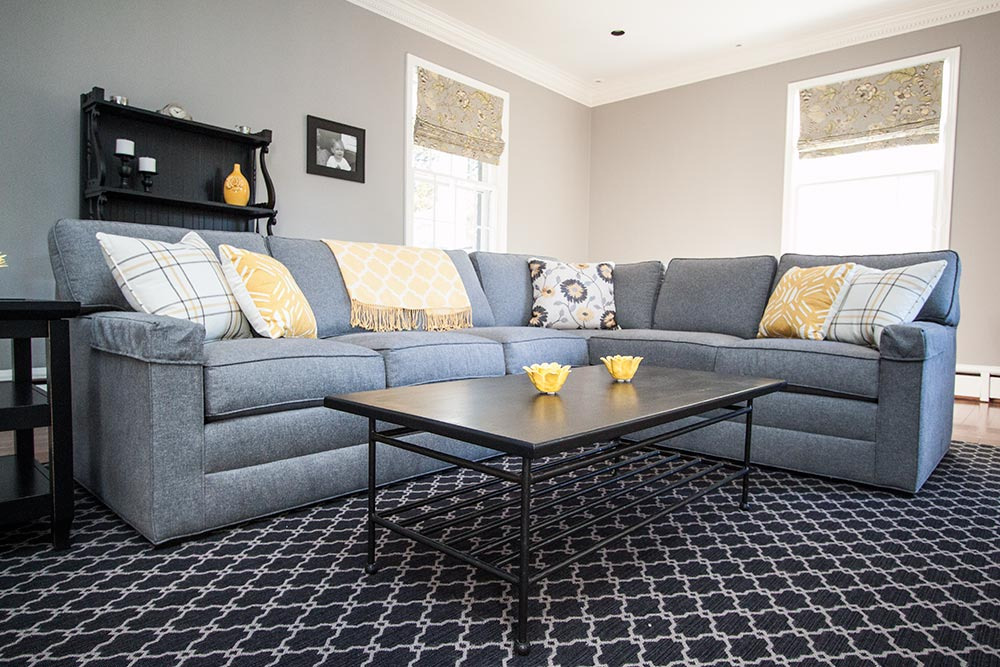 Heather Grey Sectional