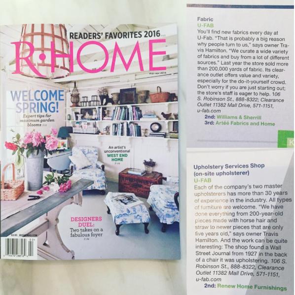 U-Fab Press: R-Home March 2016