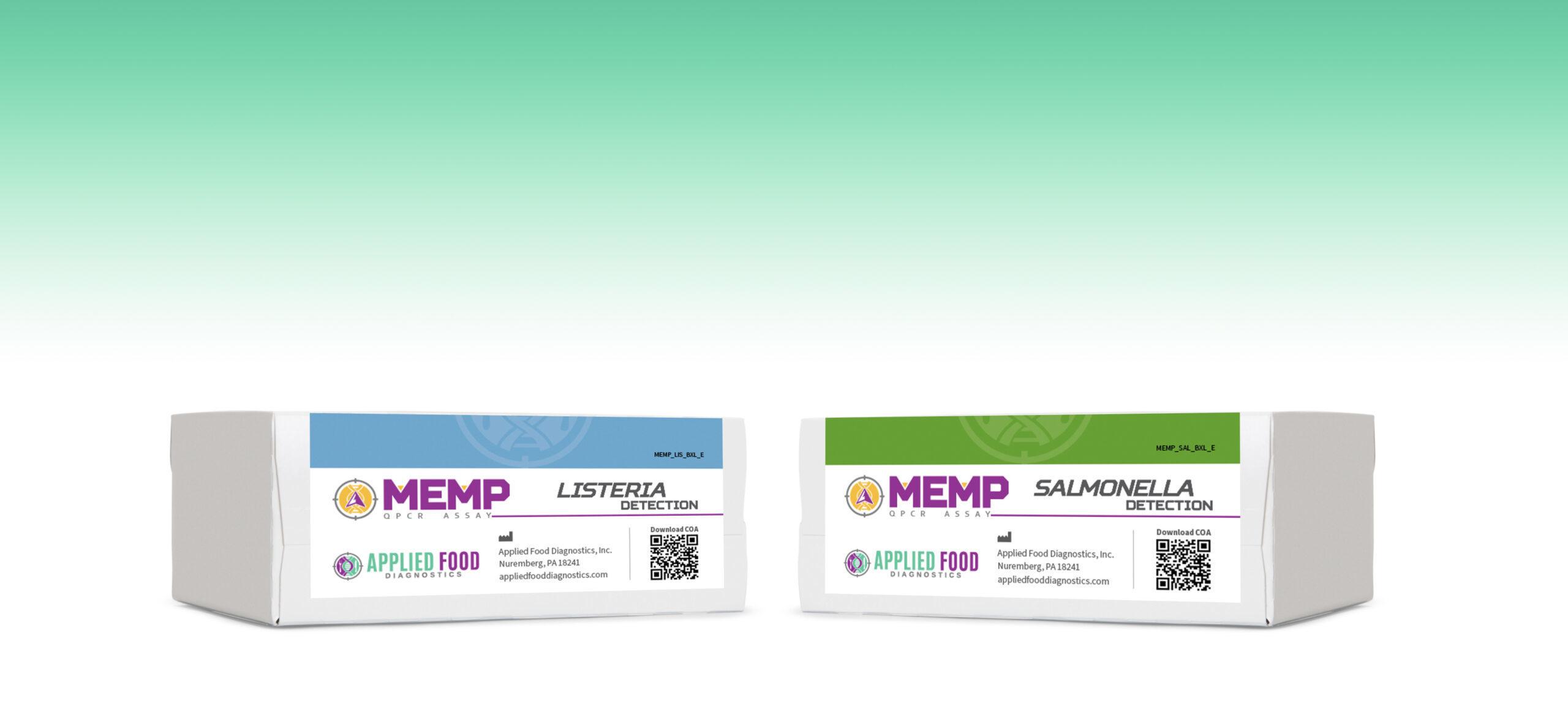 Two MEMP Kits on display