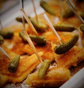 hors-doeuvres mini-grilled-cheese - cocktail party - local - catering