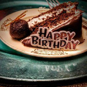 islandgirlcatering. birthday dinner. housemade chocolate cake. housemade dessert. from scratch. catering. chef. local. truffles