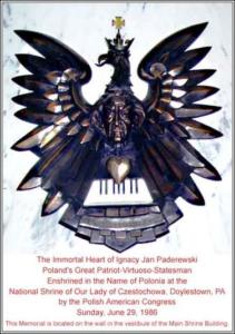 Paderewski's Immortal Heart - Doylestown, PA