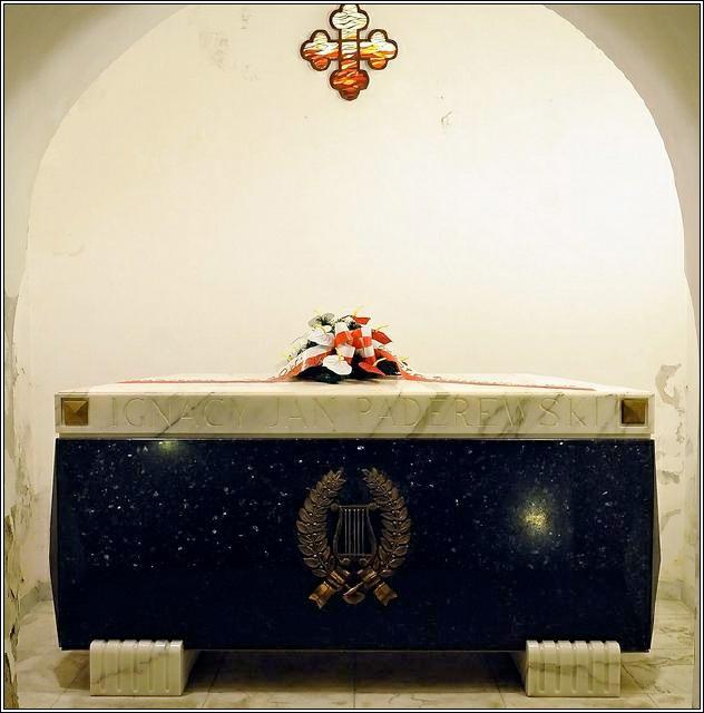 Paderewski's Crypt in Warsaw
