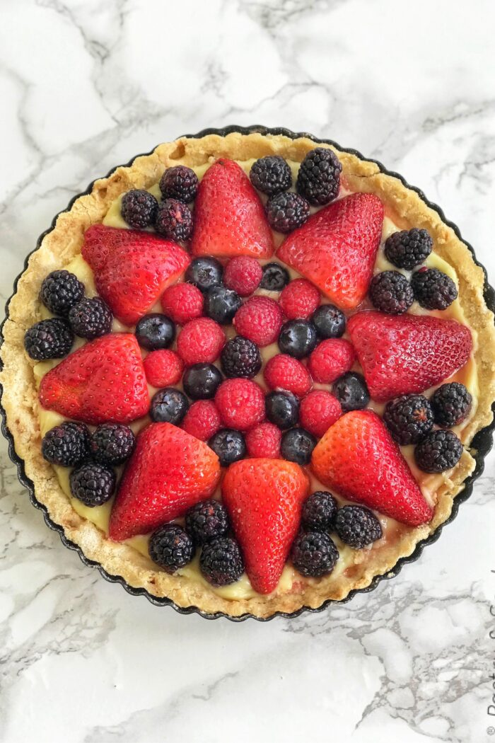 How to Make a Fruit Tart and Pastry Cream