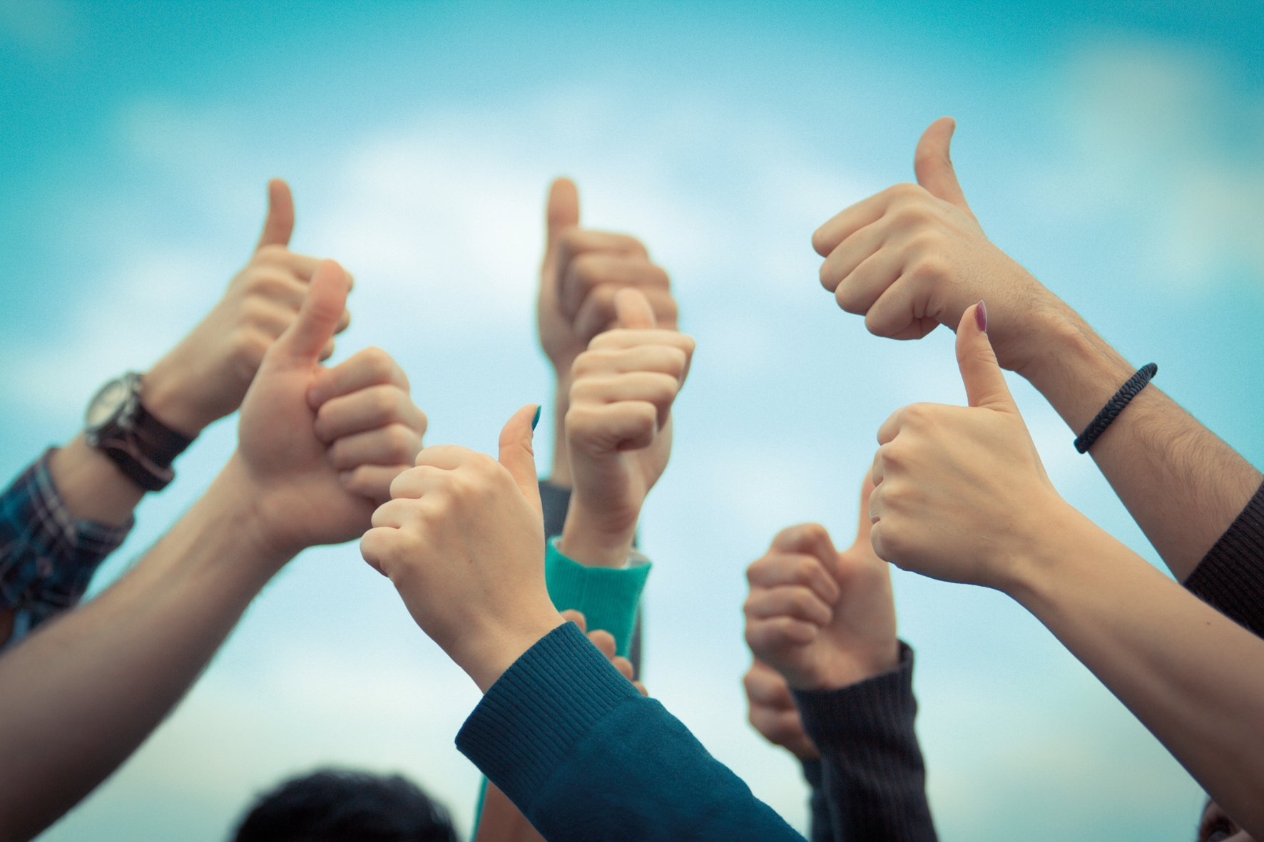 Thumbs-Up the Deaf Community