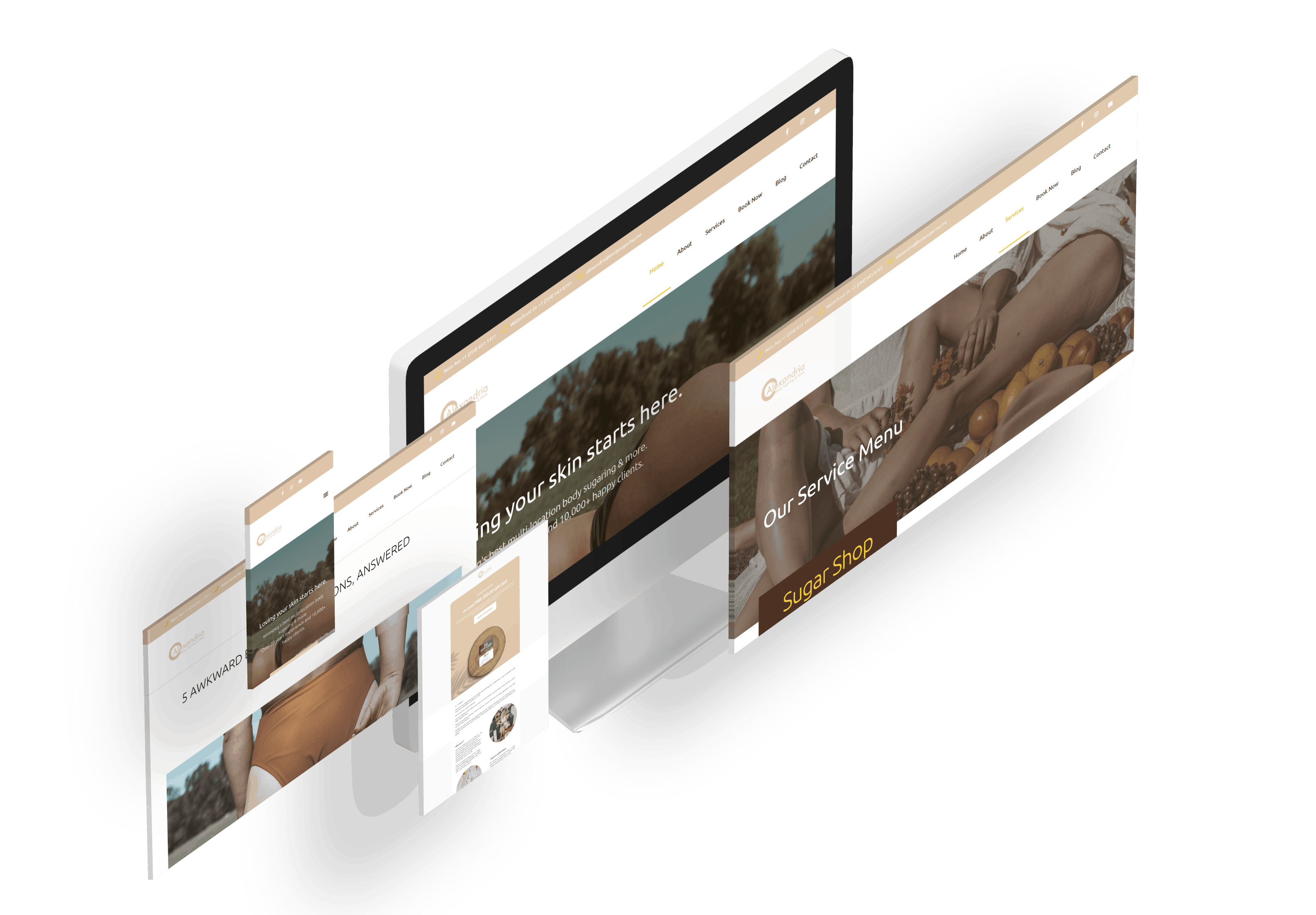 client web design