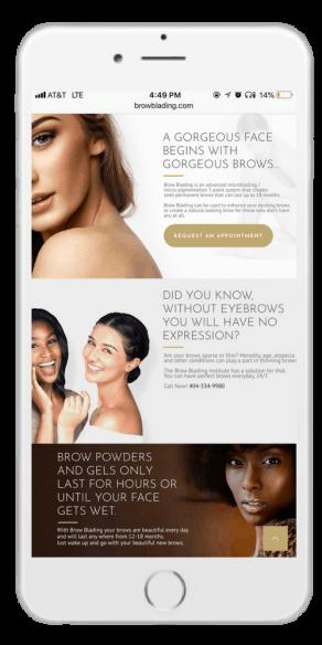 toronto web design mobile
