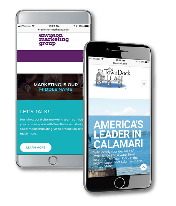 mobile web design service
