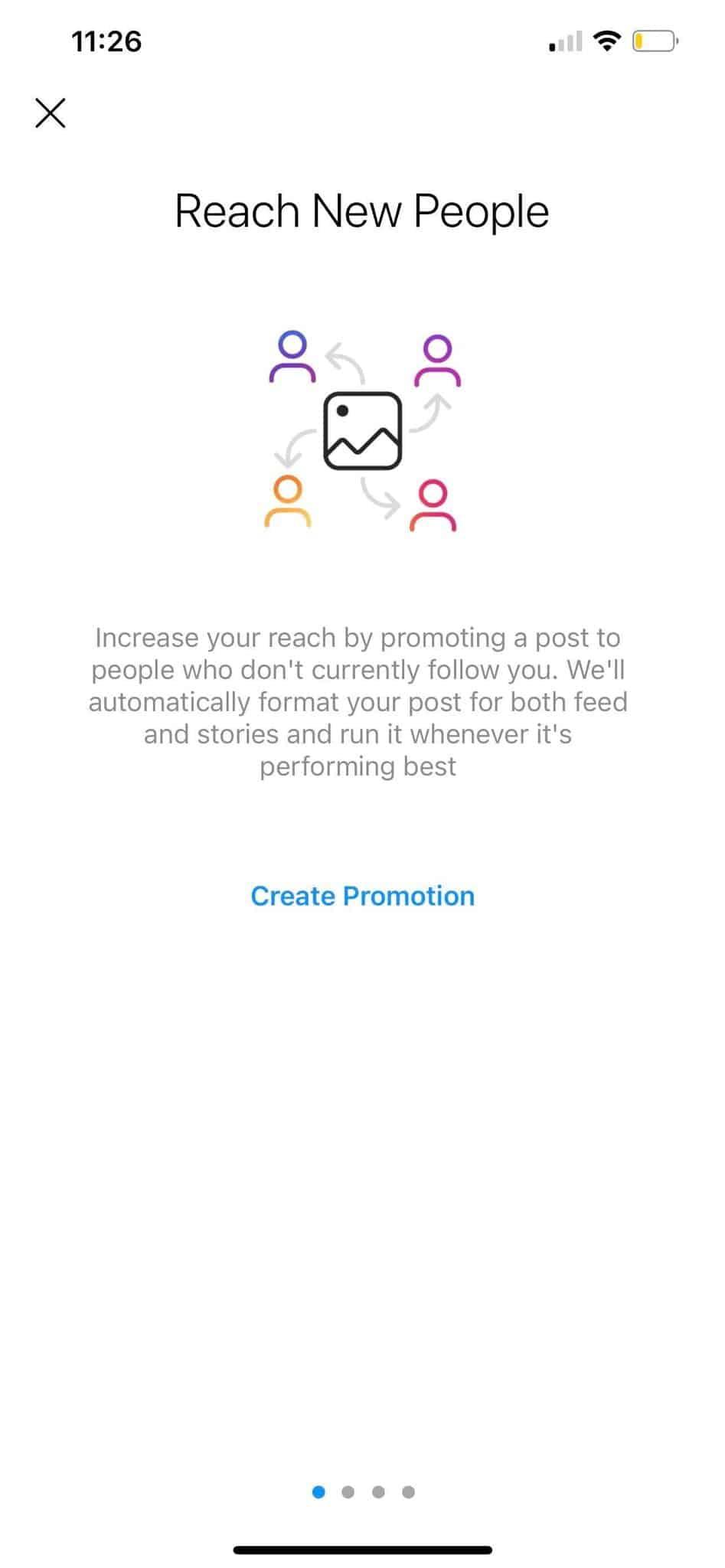 create instagram promotion