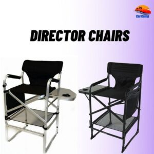 Multiple Uses of Best Folding Director's Chair from CalCamp