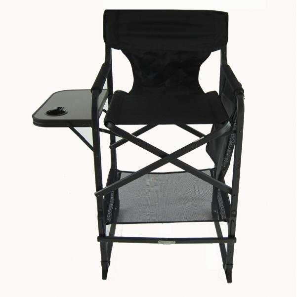 director chair with side table