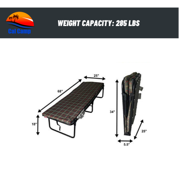 Cal Camp Deluxe Folding Cot