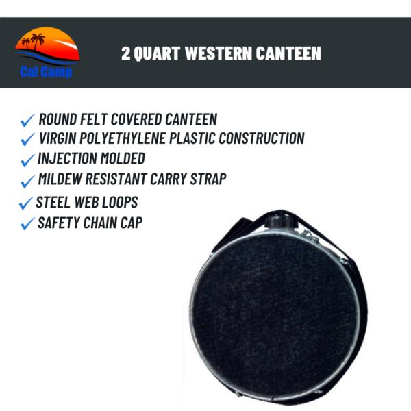 2 Quart Western Canteen