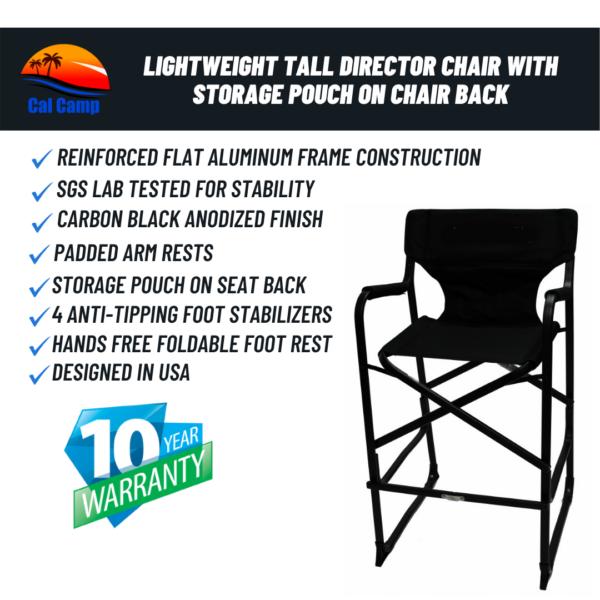 Tall Makeup Chair