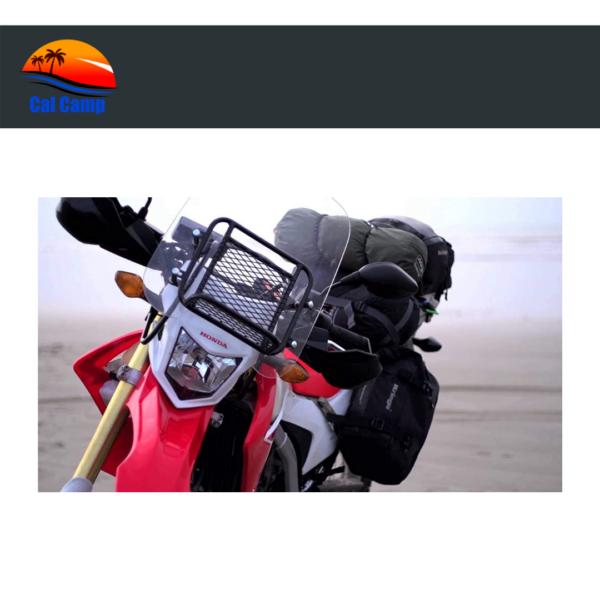 Durable Rear Luggage Utility Rack For Honda CRF250L / CRF250M Models