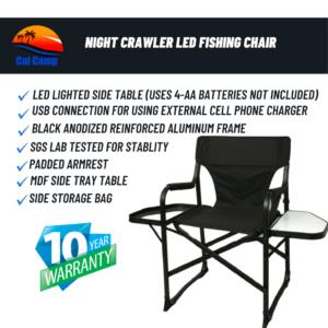 Night Crawler LED Fishing Chair