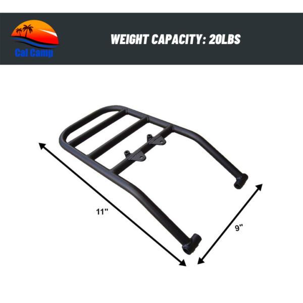 Rear Luggage Utility Rack – Compatible with Suzuki DRZ400S/SM (2000-2019)
