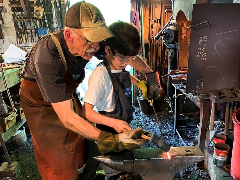 Metalwork Classes Dancing Hammer Forge & Studio
