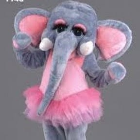 Elephant [[Singing Telegrams Chicago]] Hire a Chicken, Groucho Marx, Police woman/ Cop, Leprechaun, Cowardly Lion, Uncle Sam, Elephant, DANCING TELEGRAMS. Costs $125 for more than a singing telegram - three songs SAFE SERENADE CALL (847) 676-9295