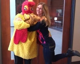 Chicken Singing Telegram: We deliver same day in Chicago, IL & in Cook County, IL. & Du Page County, IL every day. We take 3 ordinary songs and make them extraordinary just for you. Entertainment agency in Illinois providing Barbershop Quartet Near Me, Same Day singing telegram Chicago, singing telegram near me, sing-a-gram near me.