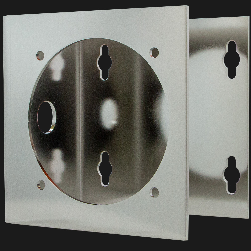 Stainless Steel Horizontal Mount for Explosion-Proof Dome Cameras