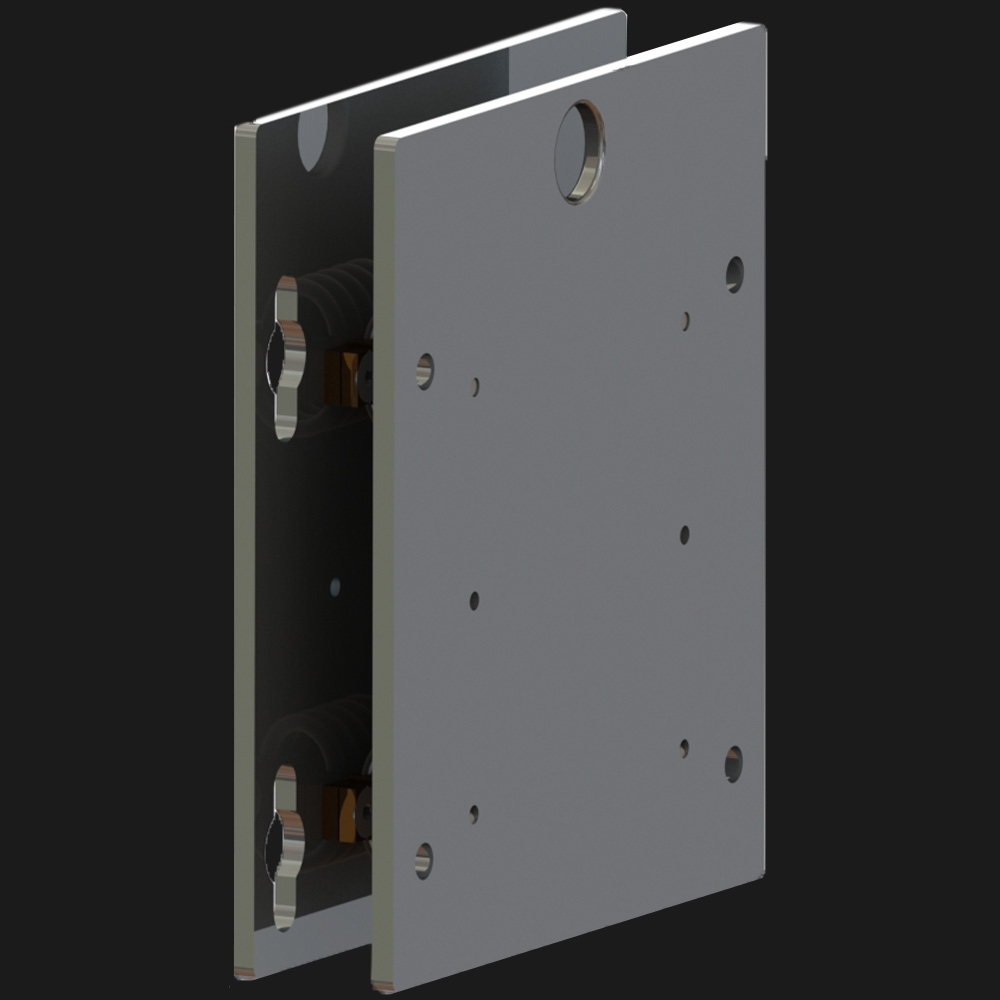 Stainless Steel Vibration-Mount for Explosion-Proof Cameras