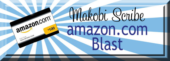 Amazon Facebook blast where one lucky reader will win a $100 Amazon gift card.