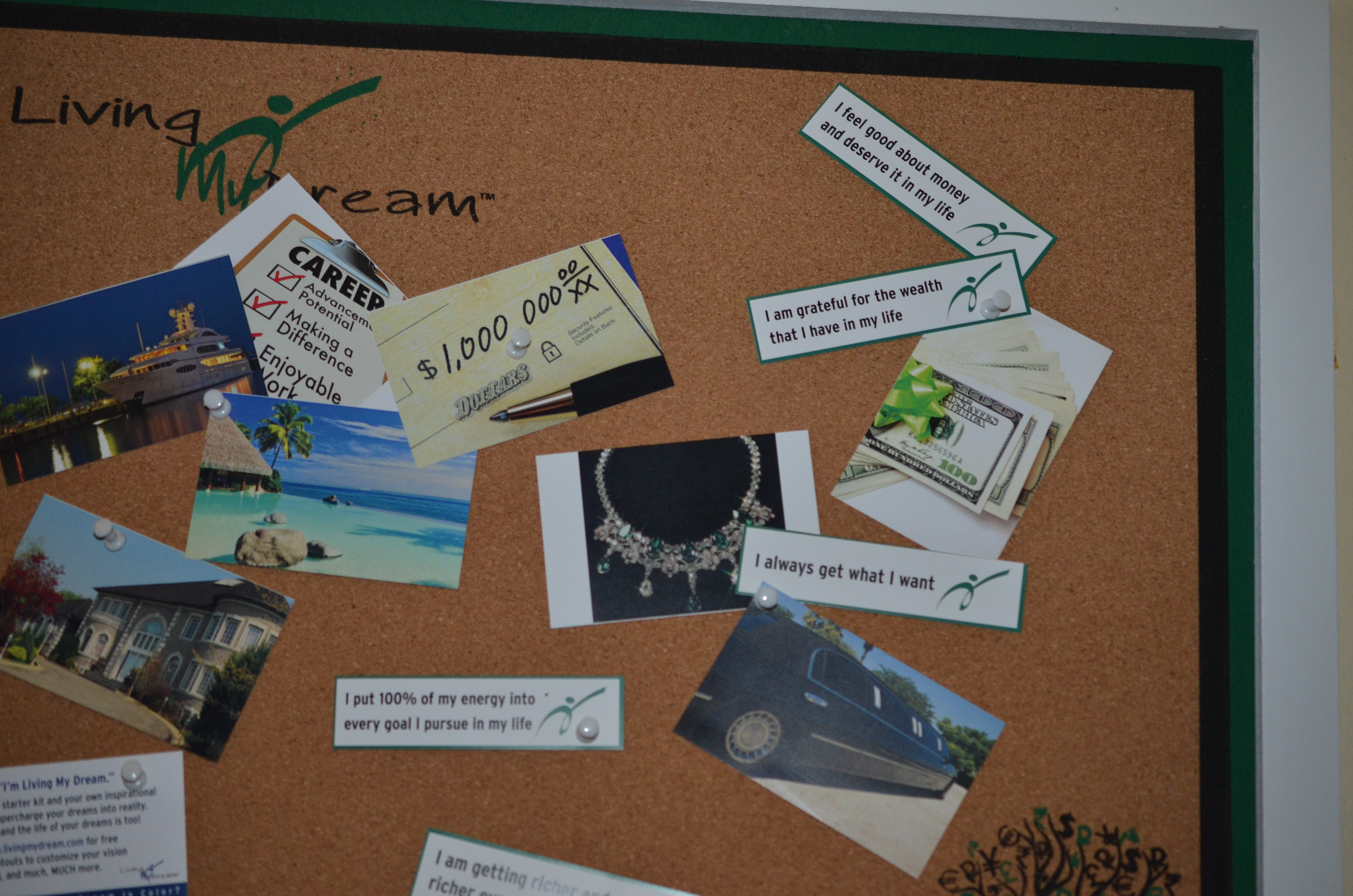Win a LivingMyDream Vision Board