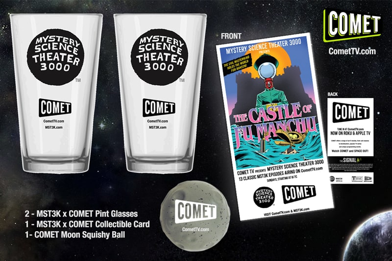Comet TV swag giveaway!! Ends May 2nd 2017