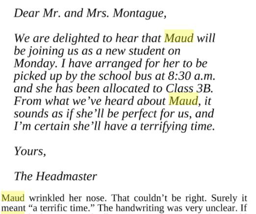 Monstrous Maud Exert