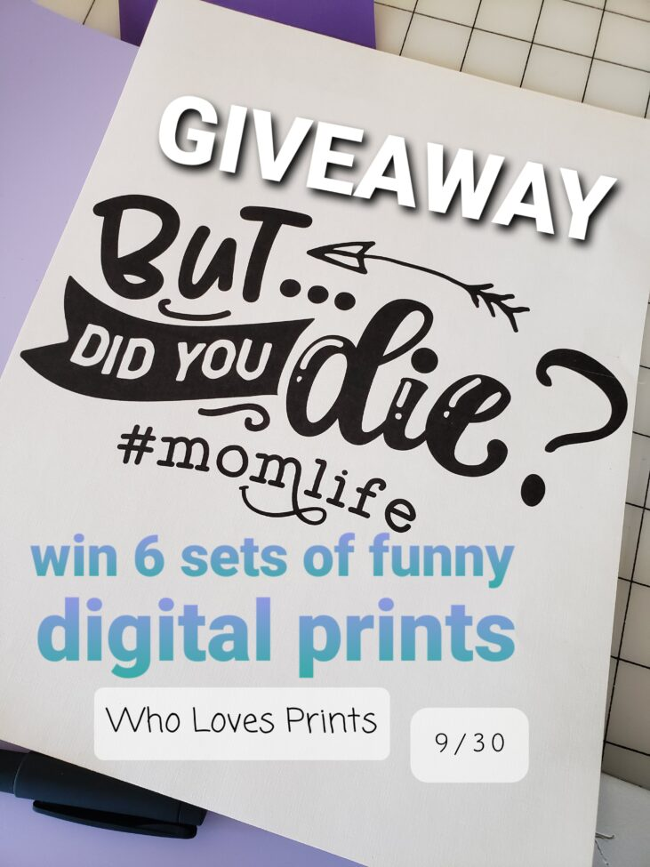 Funny bundle from Who Loves Prints