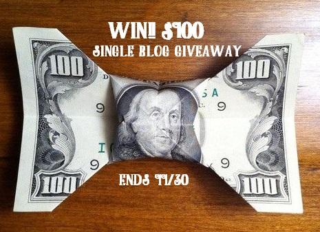 $100 Giveaway November