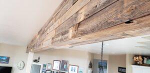 barnwood beam
