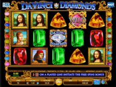 Davinci diamond slot
