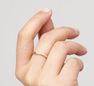 Diamond Tension Ring
