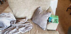 OCM blanket and pillow