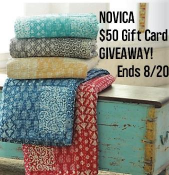 NOVICA $50 Gift Card