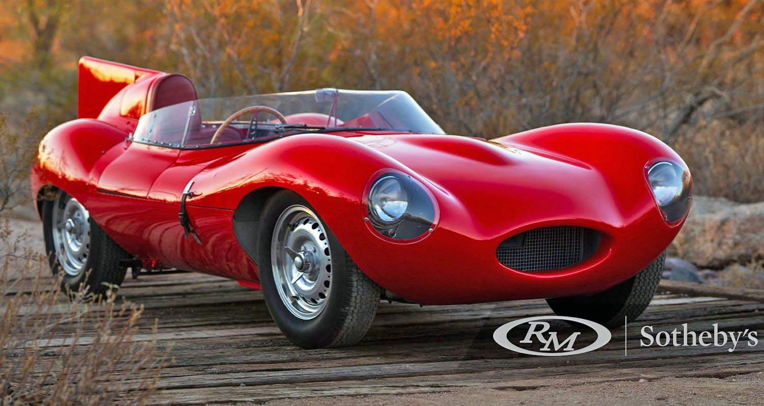 Astonishing 1955 Jaguar D-Type Offered for Sale at a Price to Up To .5 Million
