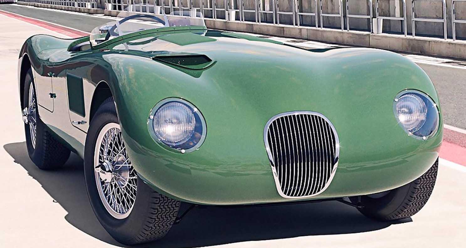 The Legendary Jaguar C-Type Is Back In 2021