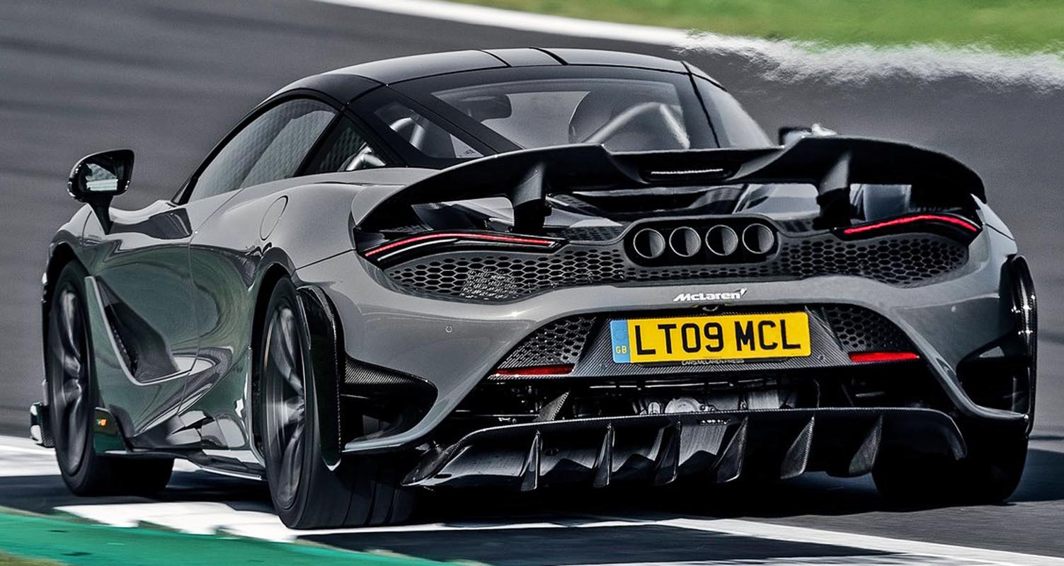 McLaren 765LT 2021 – Lighter with high performance on road and track