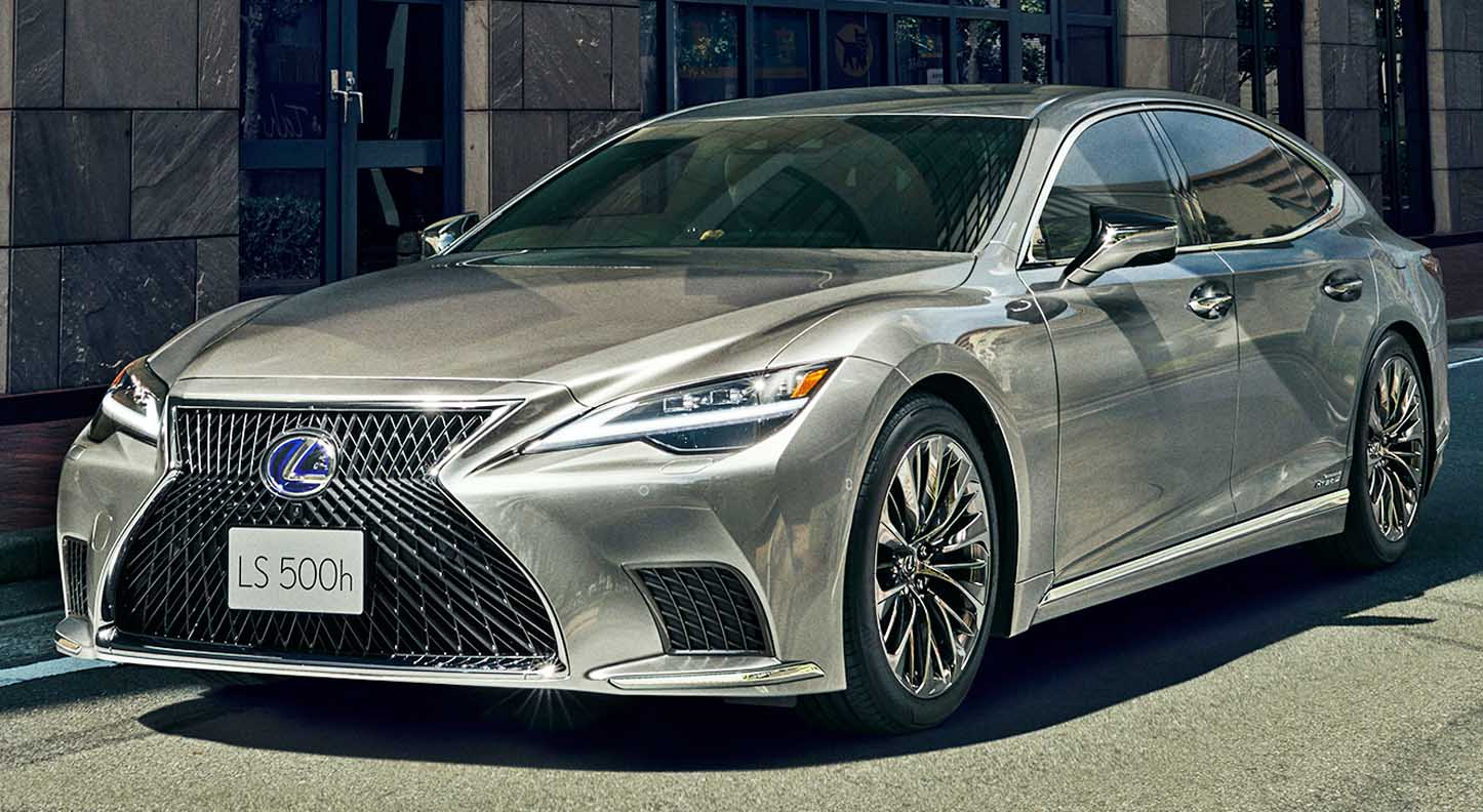 New Lexus LS 2021 Raises Refinement, comfort and technology benchmarks