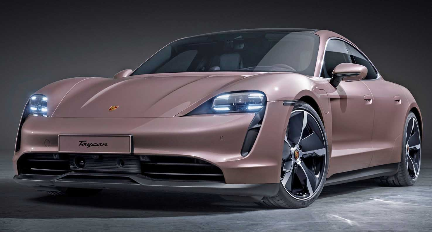 Porsche Taycan 2021 – All-Electric Sports Saloon New Entry Level