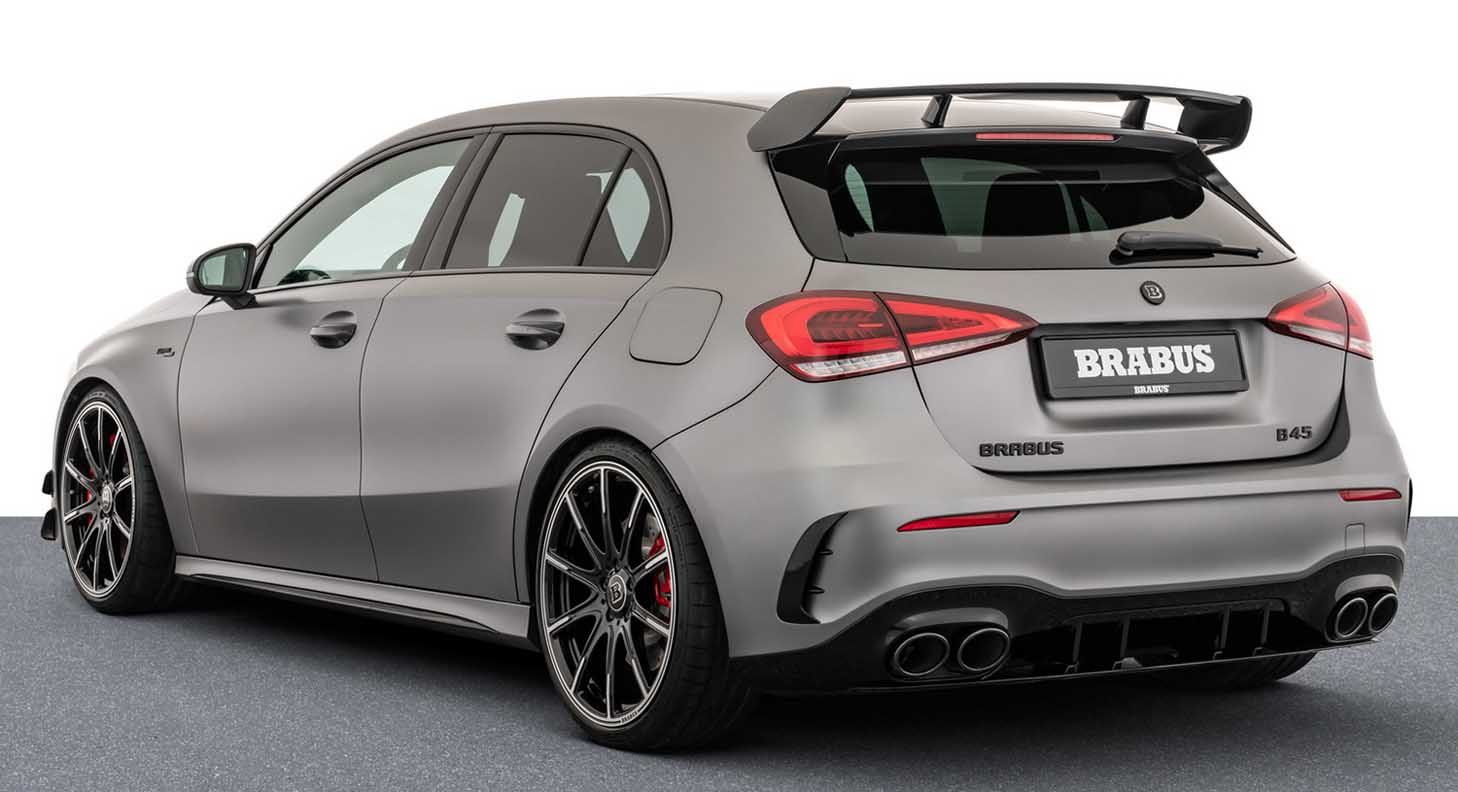 The New 2021 Mercedes AMG B45 Brabus – The Ultimate Hatchback