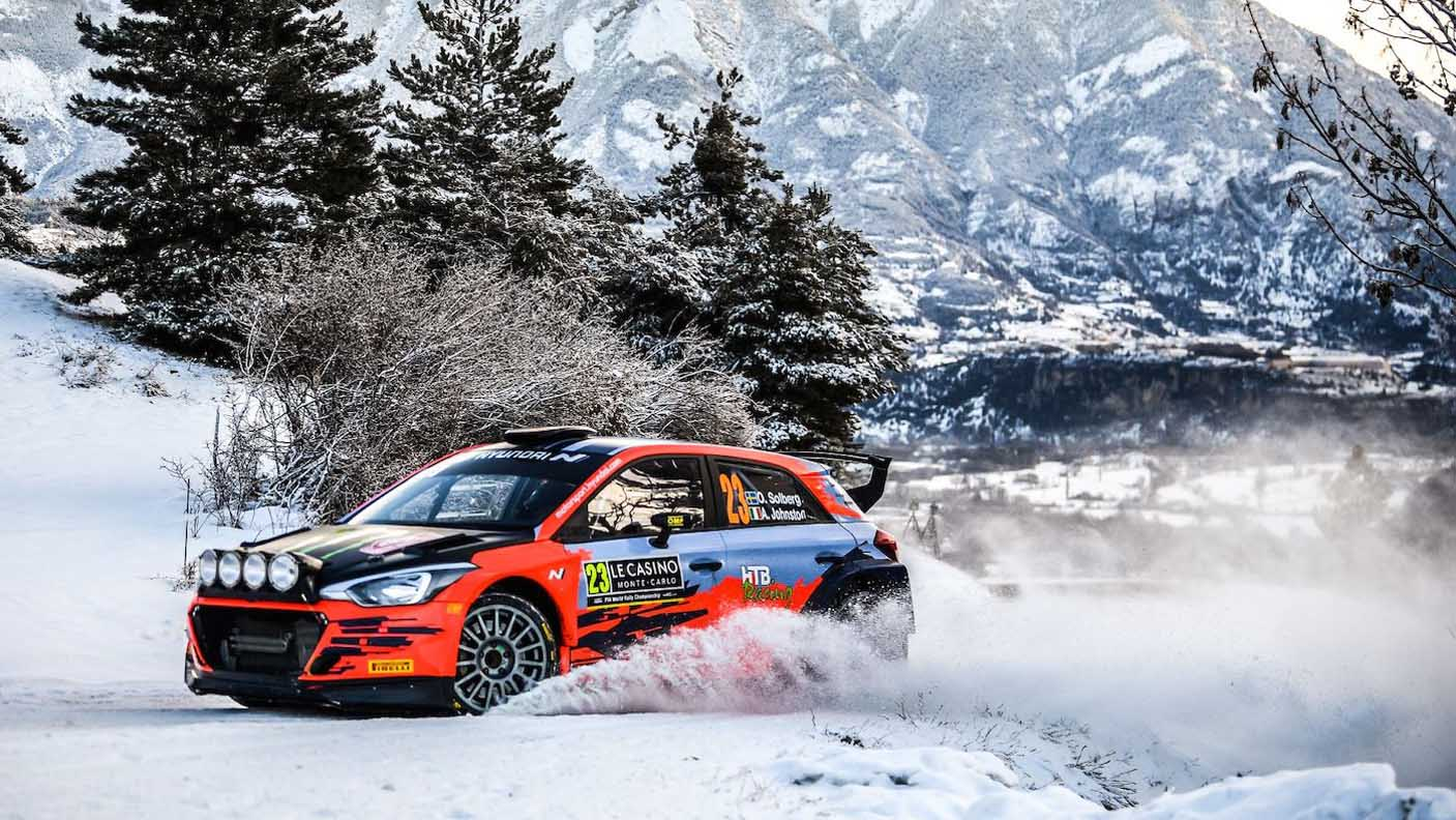 Solberg To Make World Rally Car Championship Debut