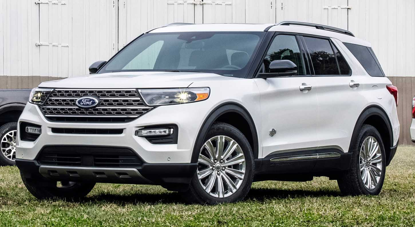The New Ford Explorer King Ranch Edition 2021