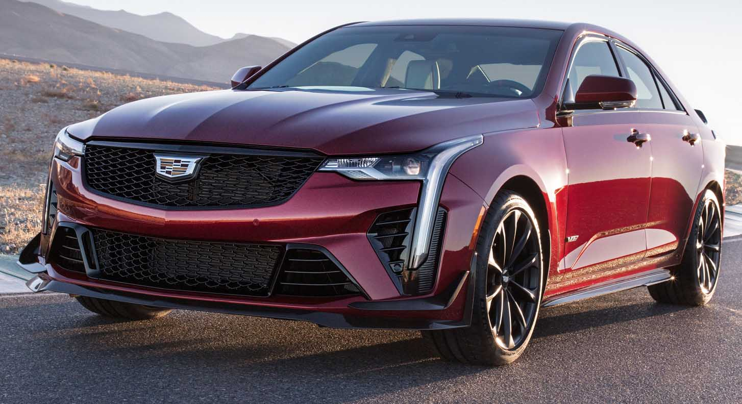 The All New Cadillac Ct4 V Blackwing Details